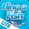 Dolphin Tale Fling a Fish LITE logo