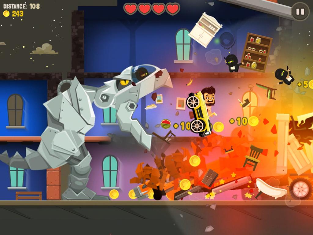 Aliens Drive Me Crazy- screenshot