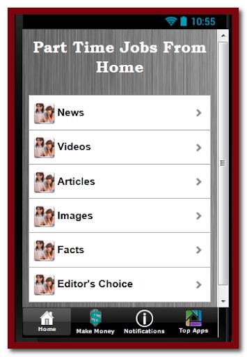 【免費商業App】Part Time Jobs From Home-APP點子