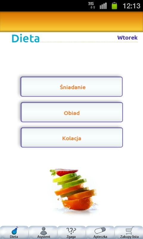Dieta Mobile- screenshot