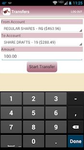 WKFCU Mobile Banking- screenshot thumbnail
