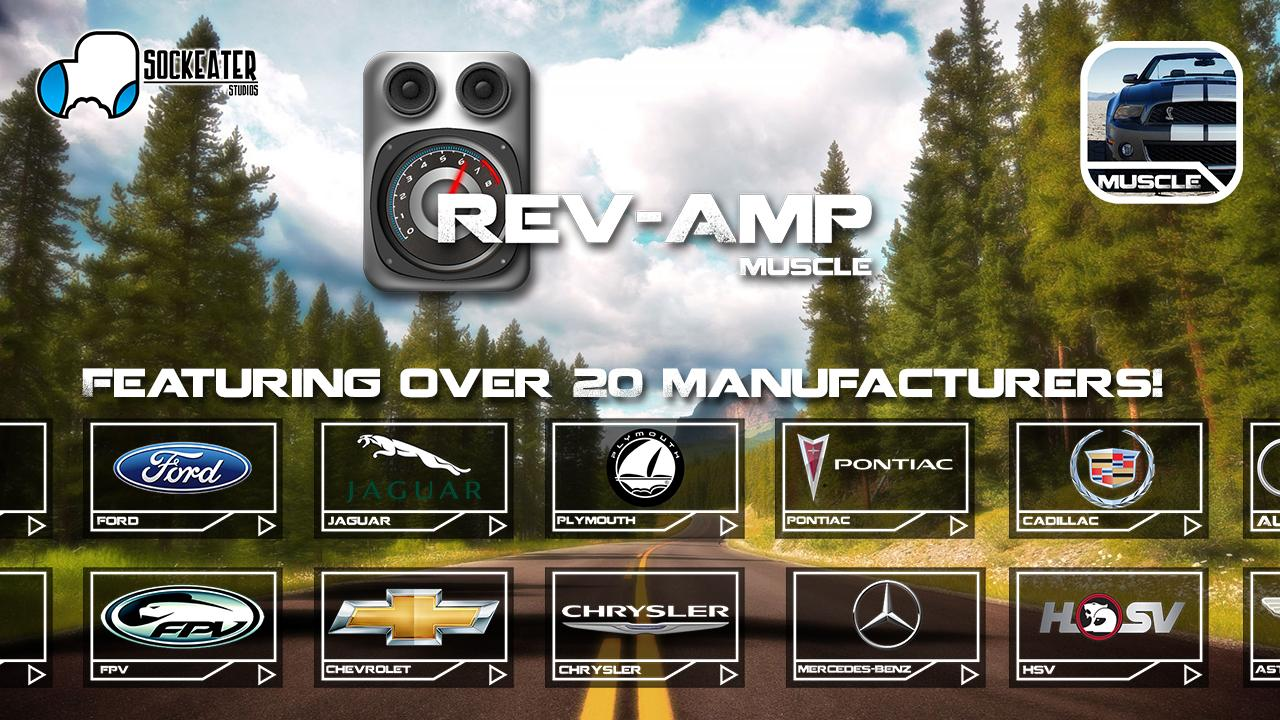 Rev-Amp: Muscle Car Sounds - screenshot