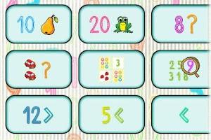 Screenshot of Čísla a matematika pre deti