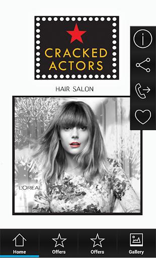 【免費生活App】Cracked Actors Hair Salon-APP點子