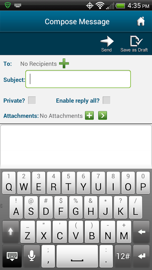 LTDMessaging- screenshot