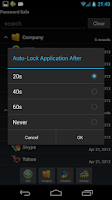 Screenshot of Password Safe Lite