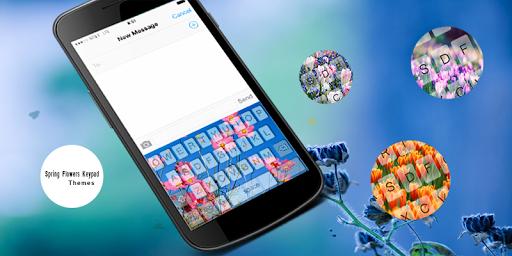 Spring Flowers Keypad Theme