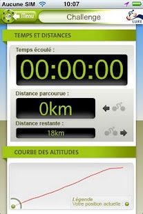 Lure Cycling Challenge- screenshot thumbnail