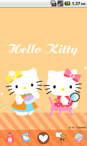 Hello Kitty In My Room Theme