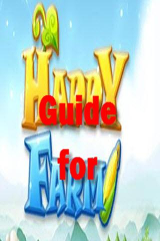 Guide for Happy Farm facebook - screenshot