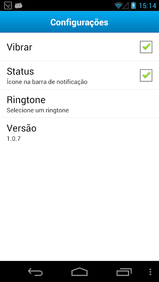 Vono - VoIP - screenshot