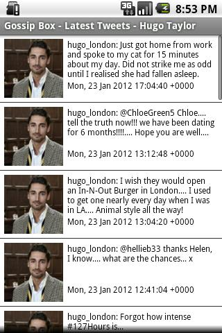 Chelsea Gossip Box - screenshot