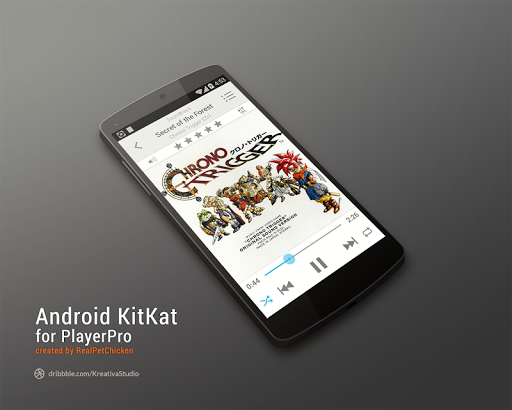 PlayerPro Android KitKat Light