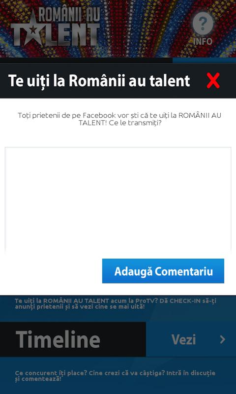 Romanii Au Talent - screenshot