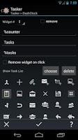 Screenshot of DashClock Tasker Extension