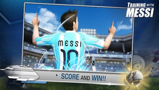 Training with Messi - screenshot thumbnail