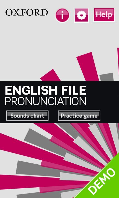English File Pron Demo- screenshot