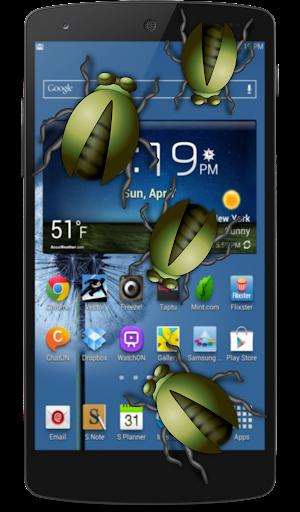 蠕蟲在手機裡的笑話
