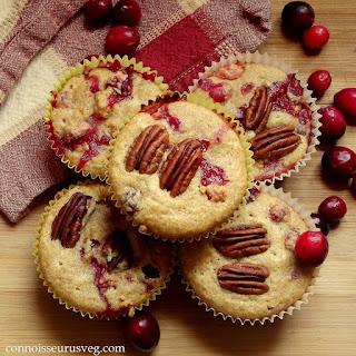 Quinoa Cranberry Orange Muffins