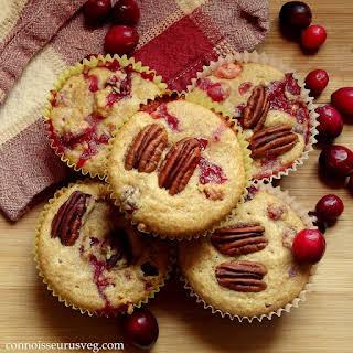 Quinoa Cranberry Orange Muffins.