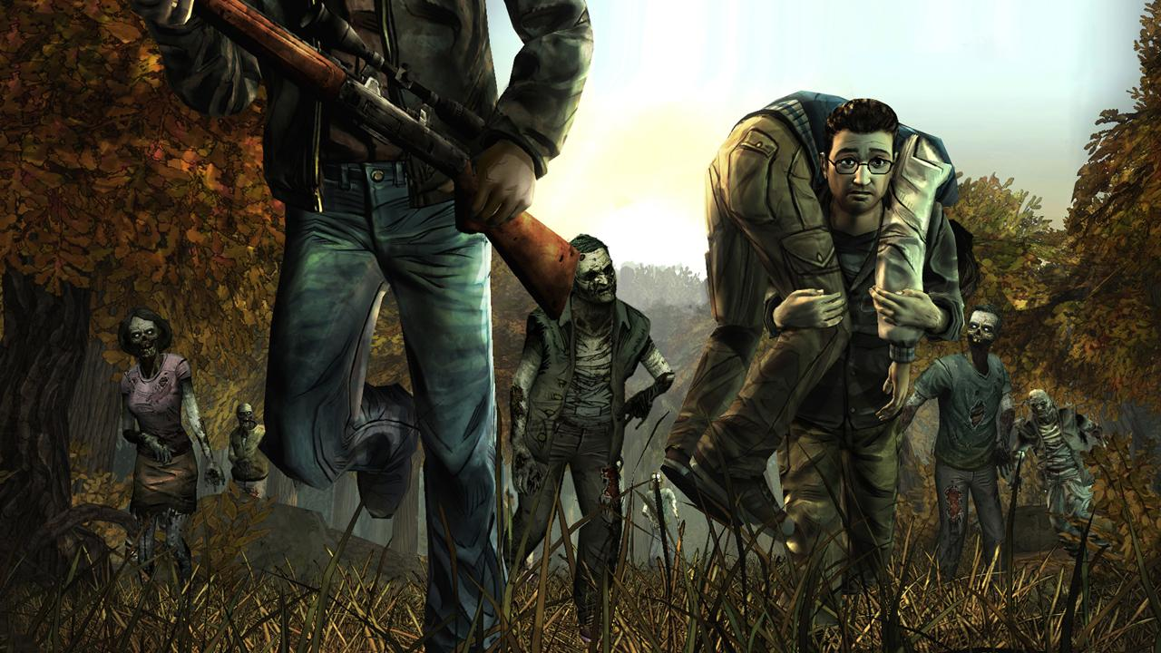 The Walking Dead: Season One- tangkapan layar