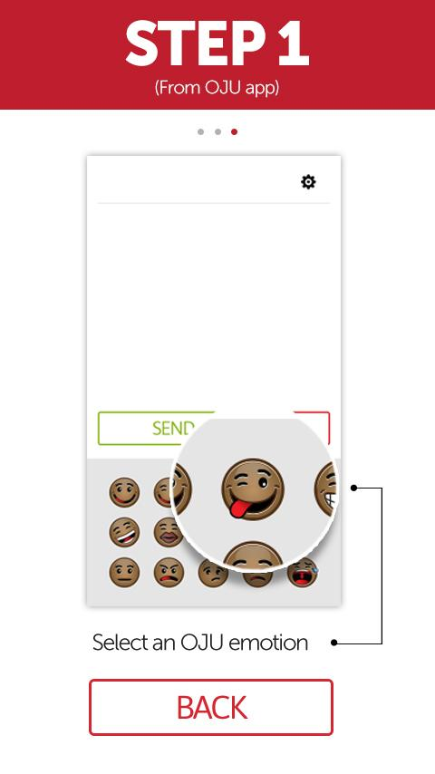 oju emoticon app- screenshot