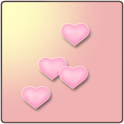 Simple Hearts Live Wallpaper icon