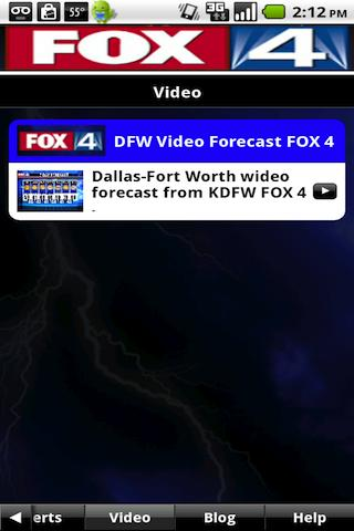 FOX4 Weather - screenshot