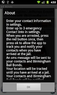 Birmingham Bail Bonds- screenshot thumbnail