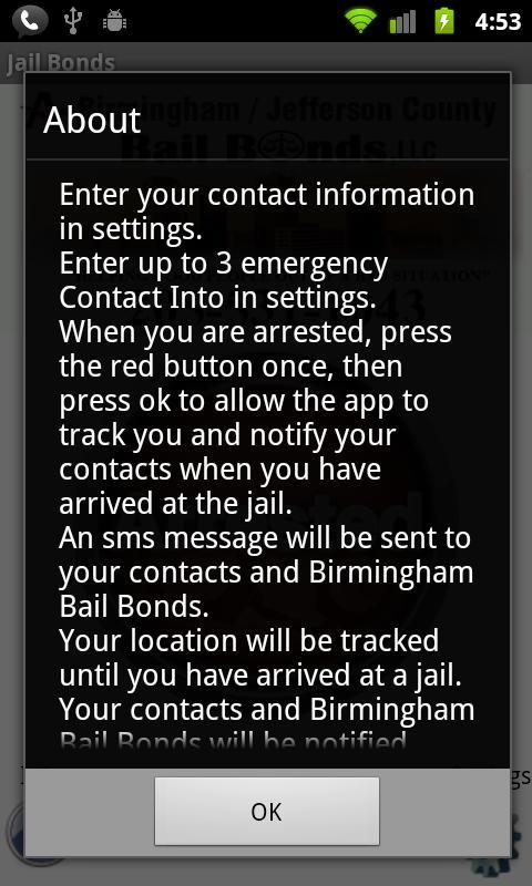 Birmingham Bail Bonds- screenshot