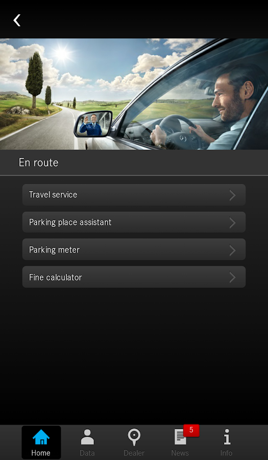 Mercedes-Benz Service - screenshot