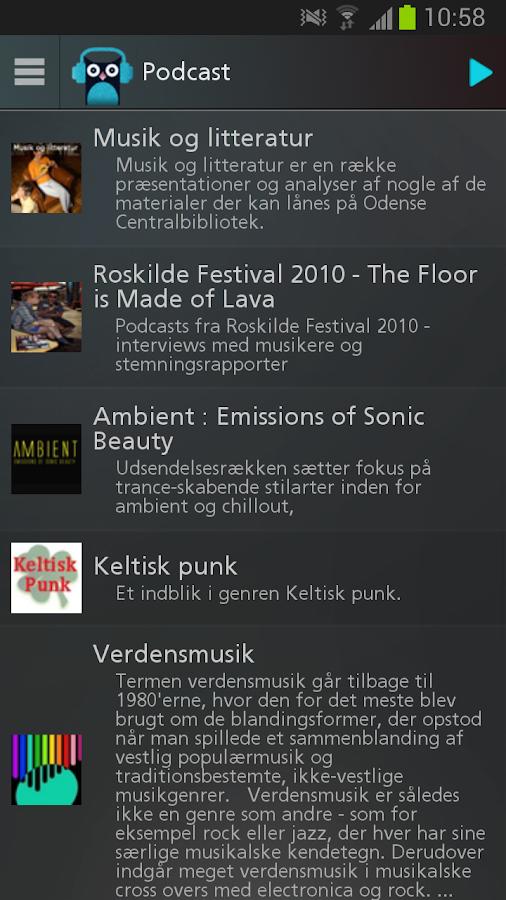 Bibzoom Radio - screenshot