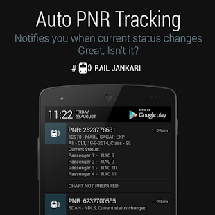Rail Jankari - Indian Railways- screenshot thumbnail