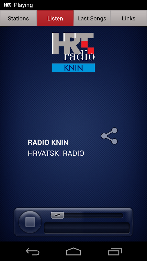 HRT radio- screenshot