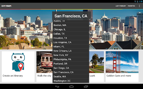 Citybot Smart Travel Guide - screenshot thumbnail