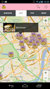 Burgerapp - screenshot thumbnail