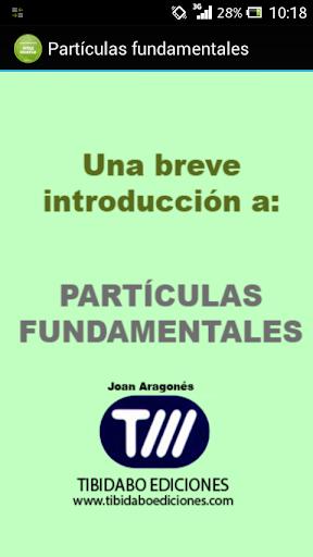 Partículas fundamentales