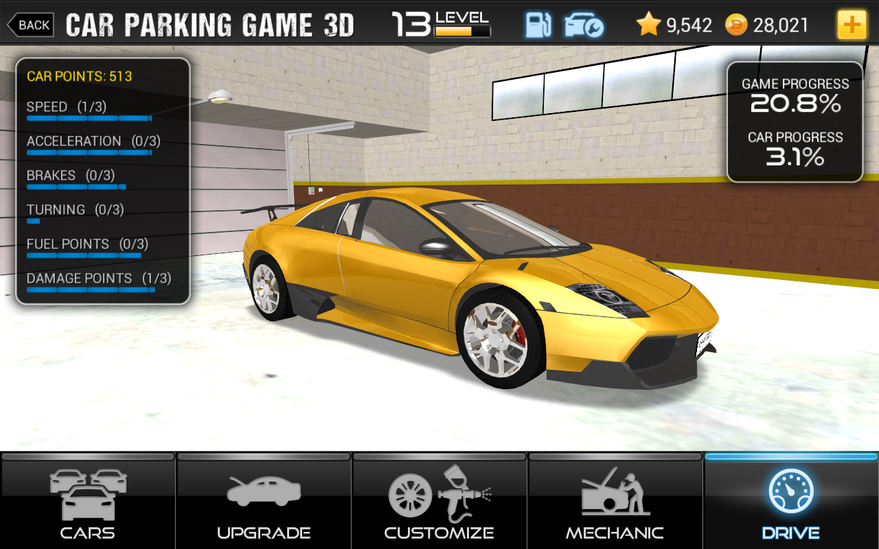 Car Parking Simulator Games
