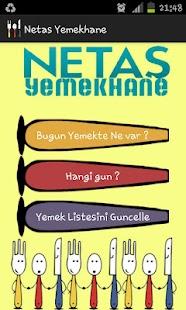 Netas Yemekhane- screenshot thumbnail