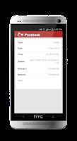 Screenshot of SIB M-Passbook