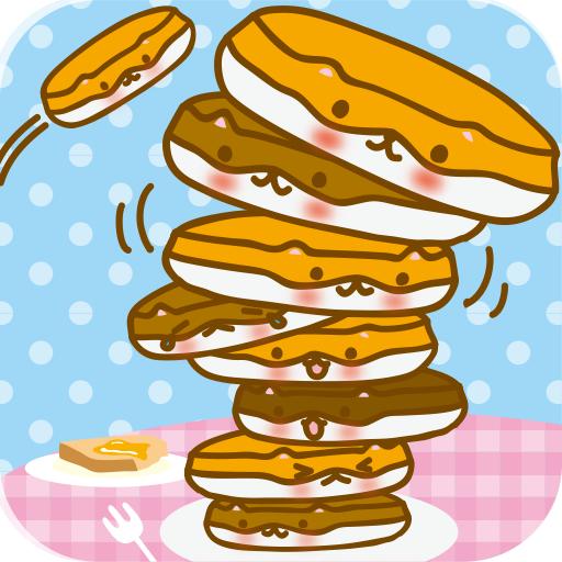 可愛的煎餅熱火腿塔 街機 App LOGO-APP開箱王