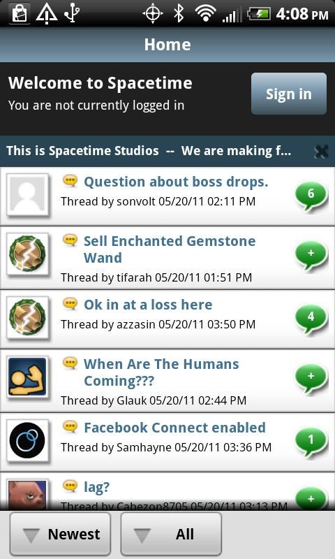 Spacetime Studios Community - screenshot