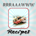 Raw Food Recipes logo