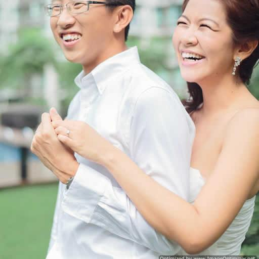 Kian Guan & Xinyi Wedding LOGO-APP點子