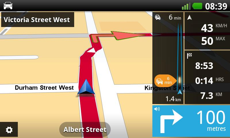 TomTom New Zealand - screenshot