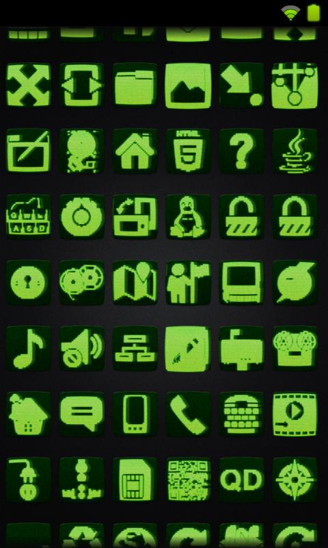 Icon Pack - Scanline - screenshot