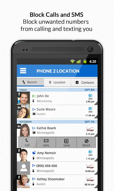Mobile Number Locations Pro- screenshot