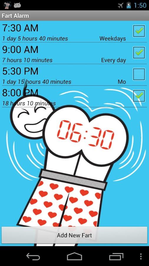 Fart Alarm - screenshot