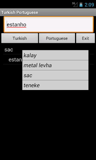 Turkish Portuguese Dictionary