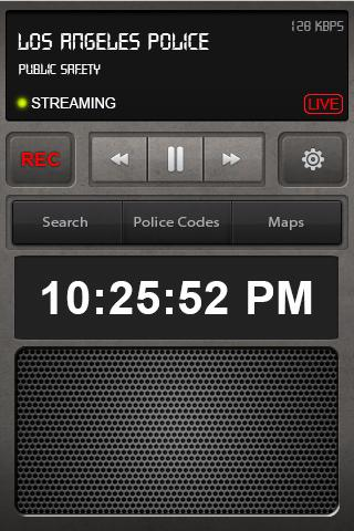 Police Radio Scanner Free - screenshot